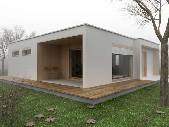 كيف يتم بناء البيوت الجاهزة