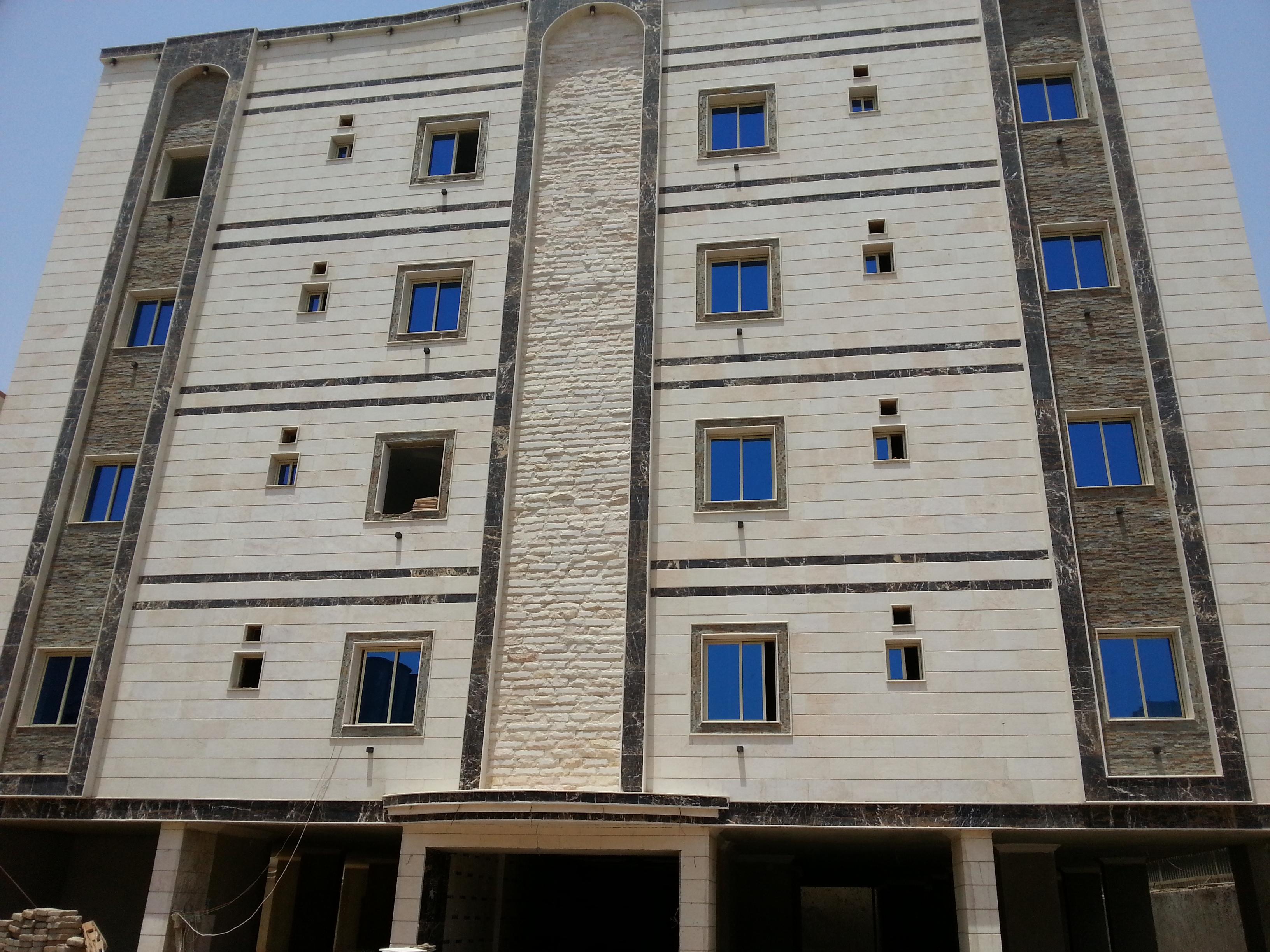 Building facades - Riyadh stone and