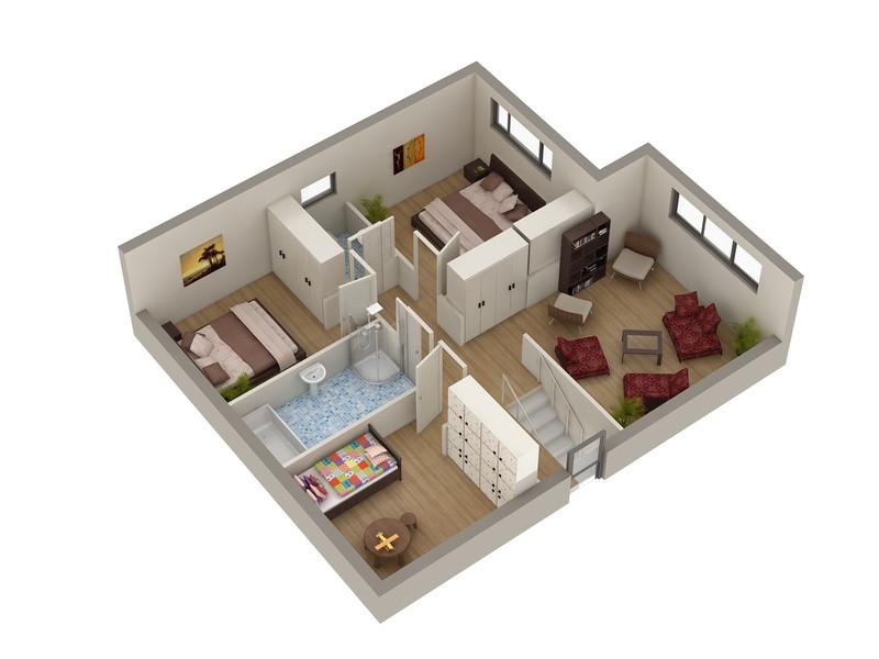 كيف يمكن تصميم شقة صغيرة بشكل رائع جدا