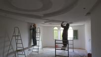 خطوات و تفاصيل المرحلة الاخيرة من اعمال التشطيب الداخلية للفلل السكنية