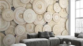 أفكار ورق حائط ورق جدران مع الخشب و الحجر
