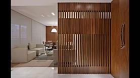 تصاميم و ديكورات فواصل غرف و قواطع فاصلة للمجالس و الغرف جبس بورد ستيل خشب