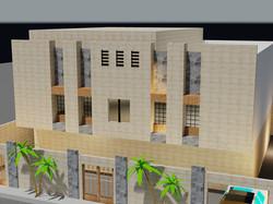 villa 3 floors design