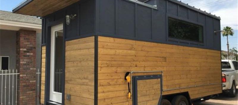 منزل صغير متكامل متحرك على عجلات فلل جاه