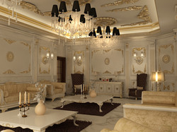 French luxury interior decoration