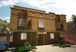 3D design for villa jeddah