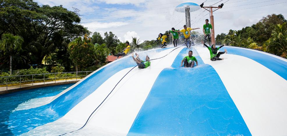 Water Bubble Slide