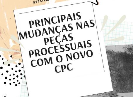 Novidades do CPC/15 nas principais peças da OAB