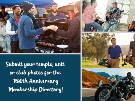Seeking Photos For 150th Anniversary Membership Directory