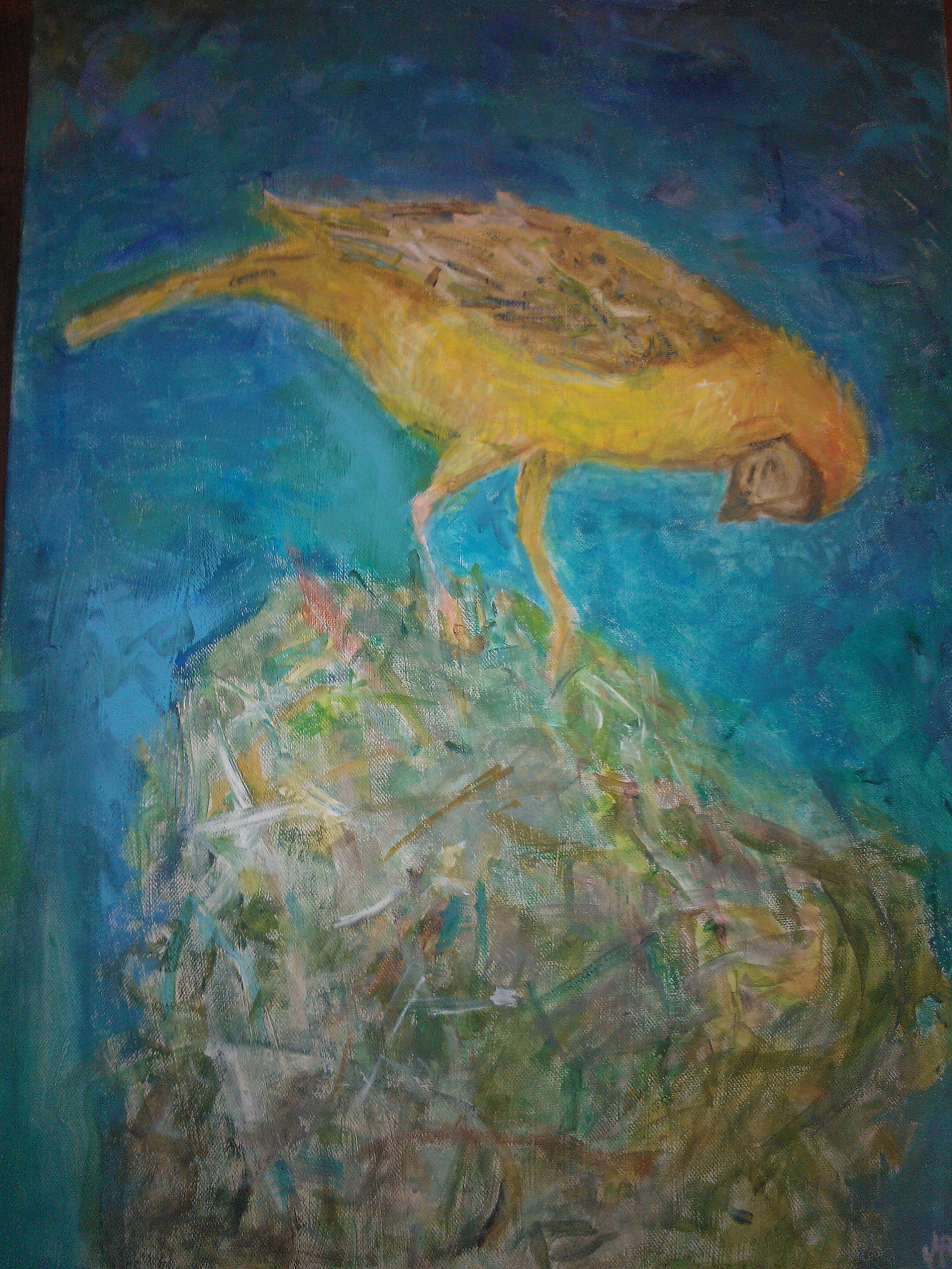 Ptak w Gnieżdzie