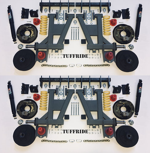 "Tuffride 10"" 4 Arm Kit with Single Shocker 2900-3300kg @735mm Dia."