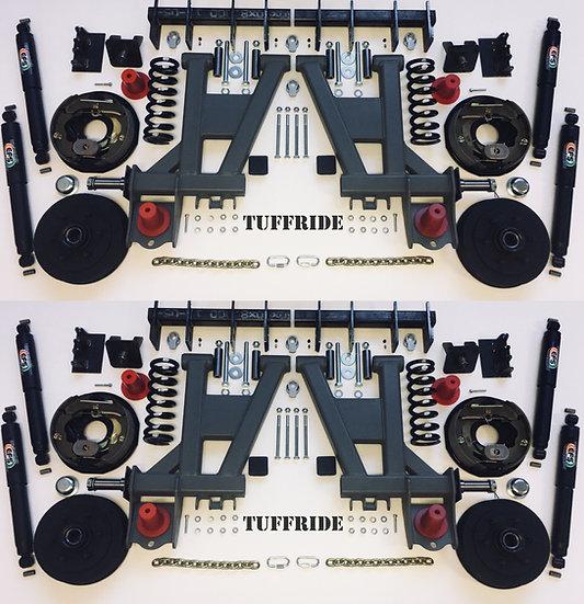 "Tuffride 10"" 4 Arm Kit with Twin Shocker 2200-2900kg @735mm Dia."