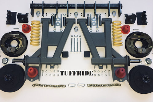"Single Axle 10"" Brake"