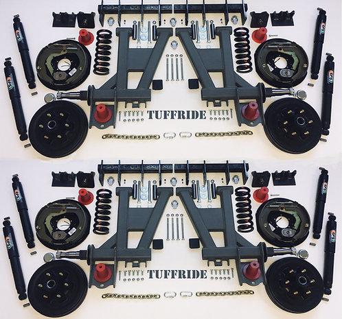 "Tuffride 12"" 4 Arm Kit with Twin Shocker 3700-4400kg @780mm Dia."