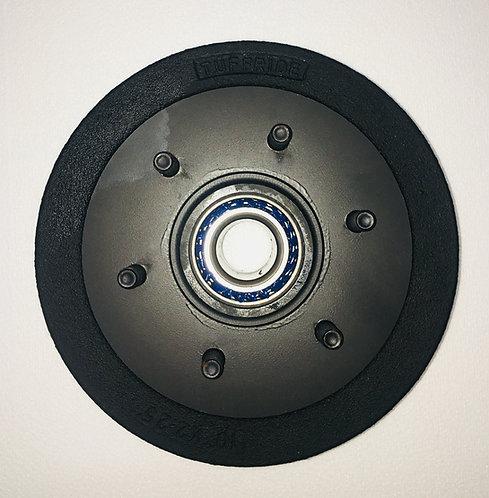"10"" Electric Brake drum to suit Parallel bearings 2 x 68149"