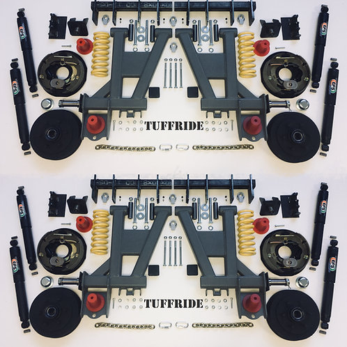 "Tandem Axle 10"" Brake"