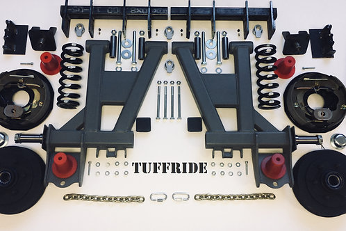 "Tuffride 10"" 2 Arm Kit with Single Shocker 1250-1500kg @735MM Dia."