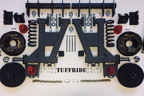 "Tuffride 10"" 2 Arm Kit with Single Shocker 1000-1250KG @735 Dia."