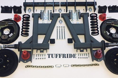 "Tuffride 12"" 2 Arm Kit with Twin Shocker 2001-2700kg @835mm Dia."