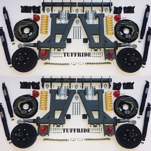 "Tuffride 12"" 4 Arm Kit with Twin Shocker 2901-3700kg @780mm Dia."