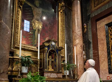 A história do crucifixo milagroso que salvou Roma da peste