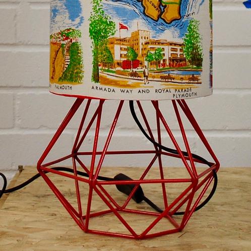 Geometric Table Lamp Base (Base Only)