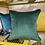 Thumbnail: Funky Lady Print Cushion - green