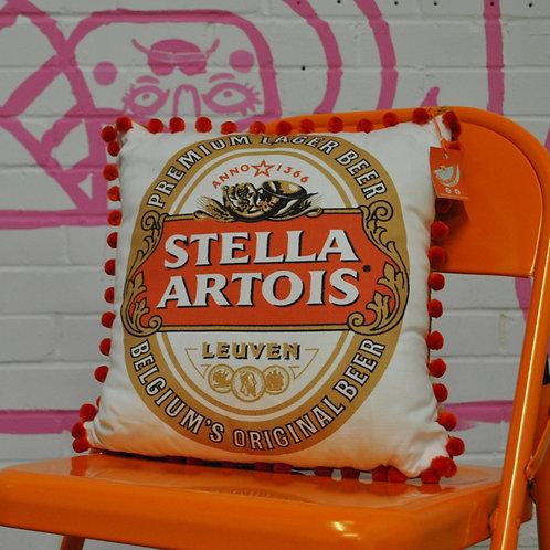 Stella Artois Cushion