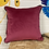 Thumbnail: Funky Lady Print Cushion - pink