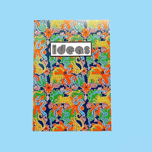 A5 notebook Funky Jungle