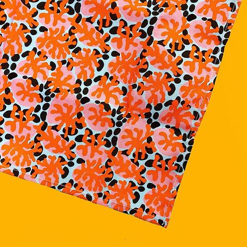Abstract Squiggle Print Tea Towel