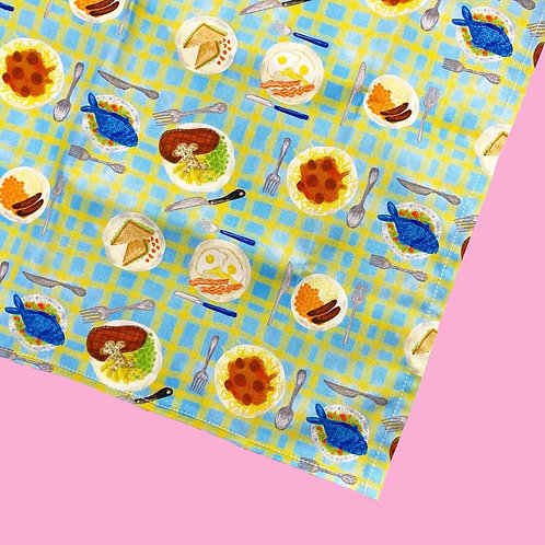 Tea Time Print Tea Towel