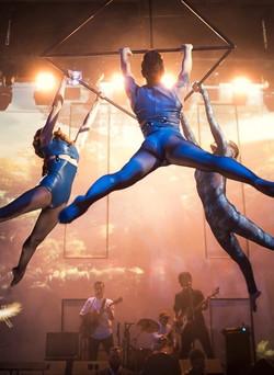 лучшие воздушные гимнасты москва