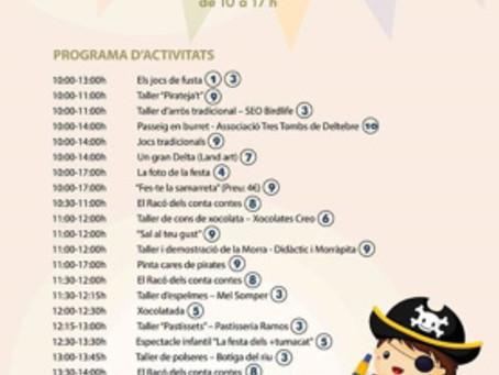 """Morra a MonNatura per als més menuts amb l´ajuda del mariner """"Carroca""""  del centre Didàc"""