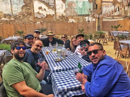 1er Campionat de Morra taverna Somriu de la festa del Mercat a la Plaça