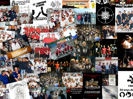 30 anys de campionats de Morra
