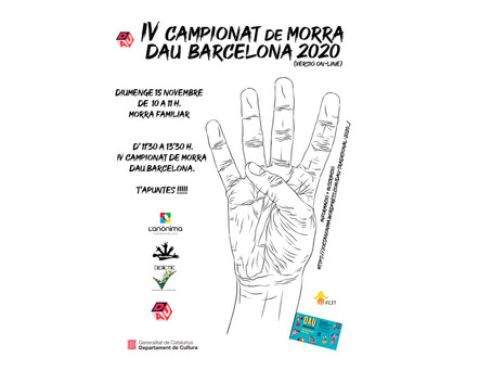 IV Campionat de Morra del Dau de Barcelona 2020