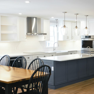westwood renovated kitchen and dining room
