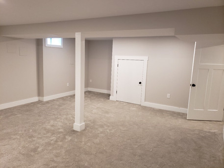 renovated basement
