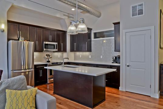 custom loft kitchen