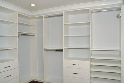 custom built in closet