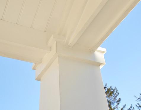 pillar soffit detail