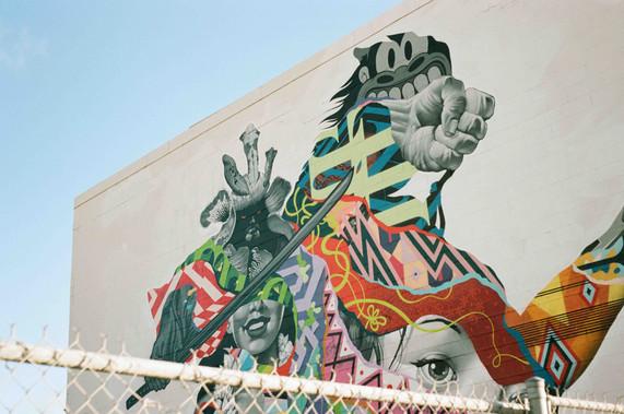 Genghis Khan Oahu Graffitti