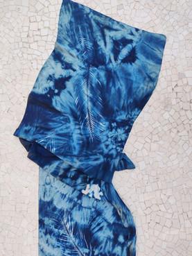 Silk Cyanotype Scarf
