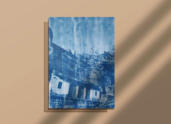 Chokhelao Bagh Cyanotype Photograph