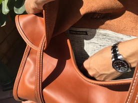 Martingale Convertible Leather Bag