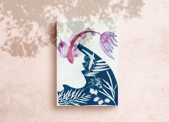 Ribbonfish gouache Art Print