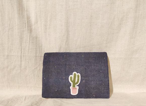 Cactus Jute Clutch