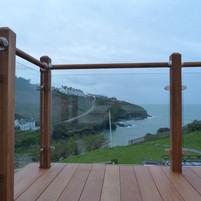 Hardwood, stainless steel & glass, Port