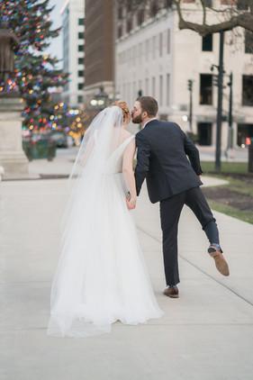 Winter Wedding Downtown Lansing